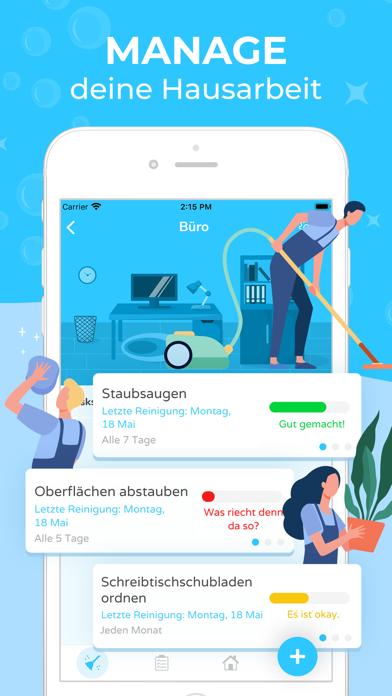 Sweepy: Dein PutzplanScreenshot von 1