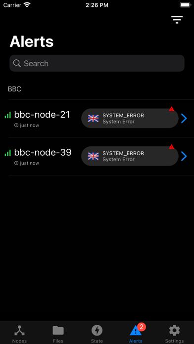 BBC DMS App screenshot 3