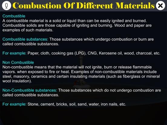 Burning of Different Materials screenshot 10