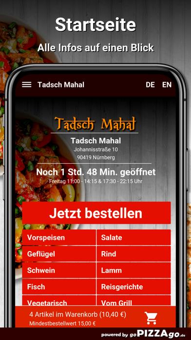 Tadsch Mahal Nürnberg screenshot 2