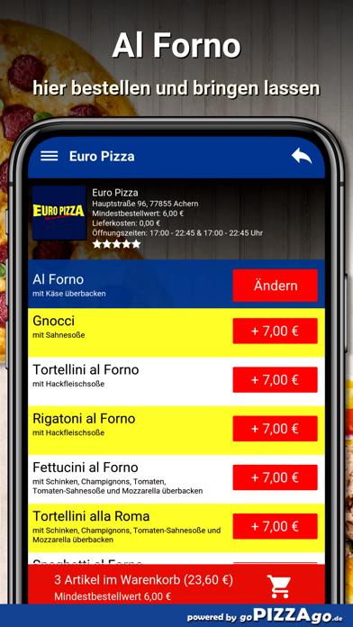 Euro Pizza Achern screenshot 6