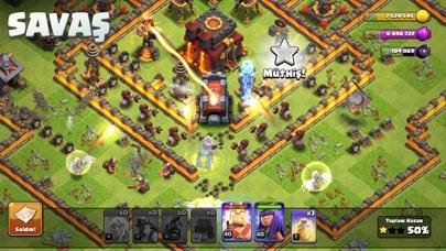 Clash of Clans iphone ekran görüntüleri