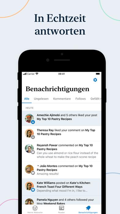 WordPressScreenshot von 6