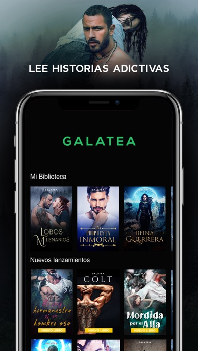 GALATEA - Historias adictivasCaptura de pantalla de1