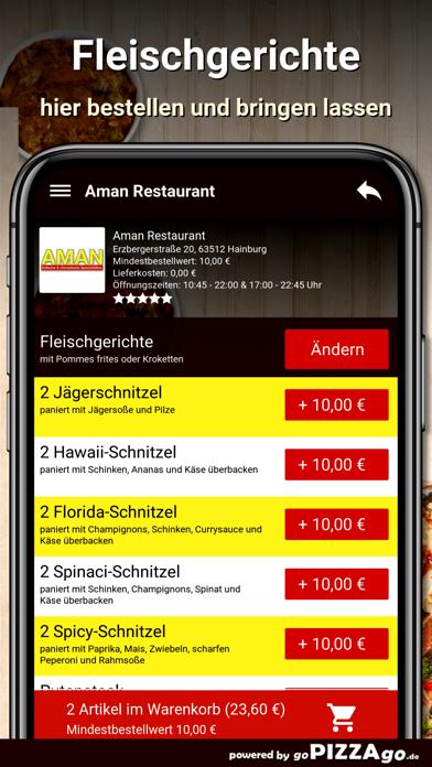 Aman Restaurant Hainburg screenshot 5