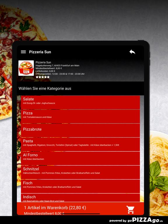 Pizzeria Sun Frankfurt am Main screenshot 8