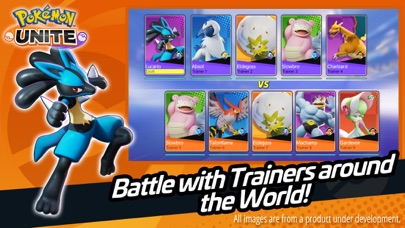 Pokémon UNITE Screenshot on iOS