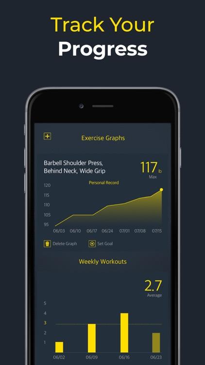Workout: Gym workout planner screenshot-3