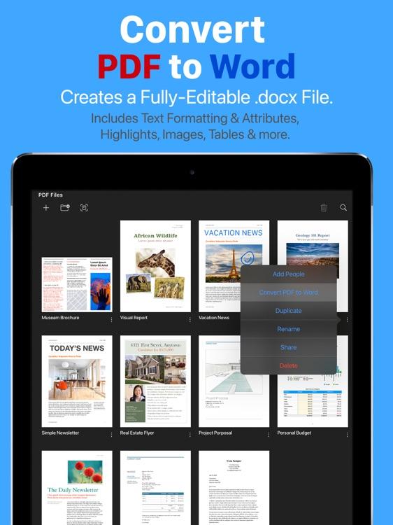PDF Office Max, Edit & Convert screenshot-3