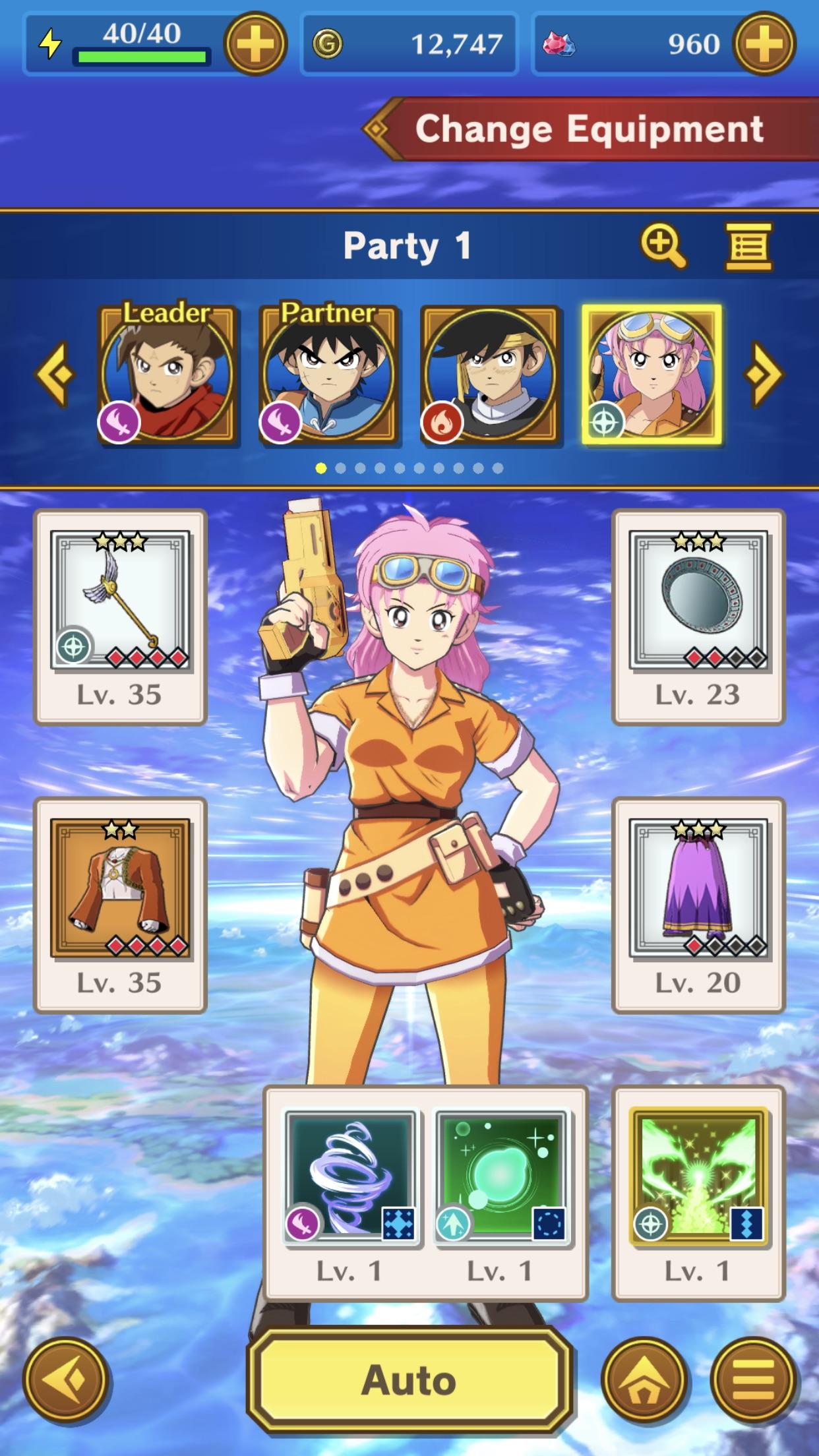 Screenshot do app DQ Dai: A Hero's Bonds