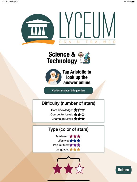 Lyceum Brain Trainer screenshot 13