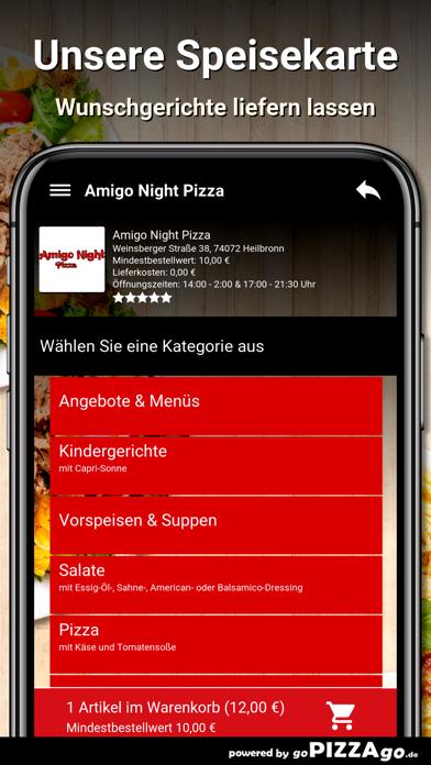 Amigo Night Pizza Heilbronn screenshot 4