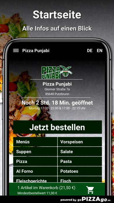 Pizza Punjabi Putzbrunn screenshot 2
