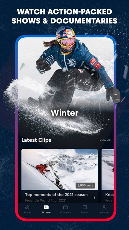 Red Bull TV: Live Events screenshot-3