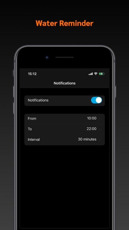 My Water - Drink Daily Tracker screenshot-3