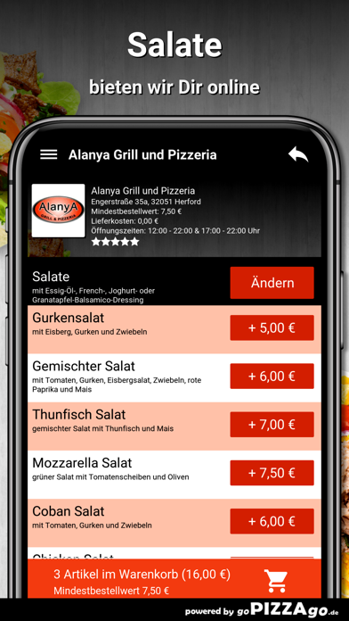 Alanya-Grill Herford screenshot 5