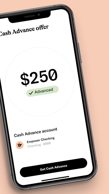 Empower: Up to $250 Advance