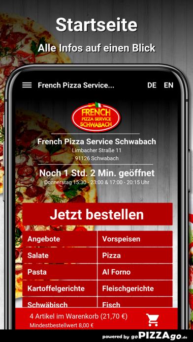 French Pizza Service Schwabach screenshot 2