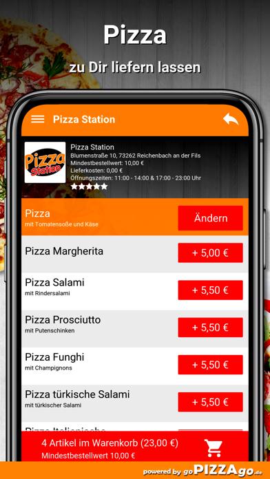 Pizza-Station Reichenbach screenshot 5