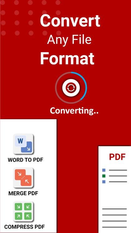 PDF Converter: Editor & Merger screenshot-5