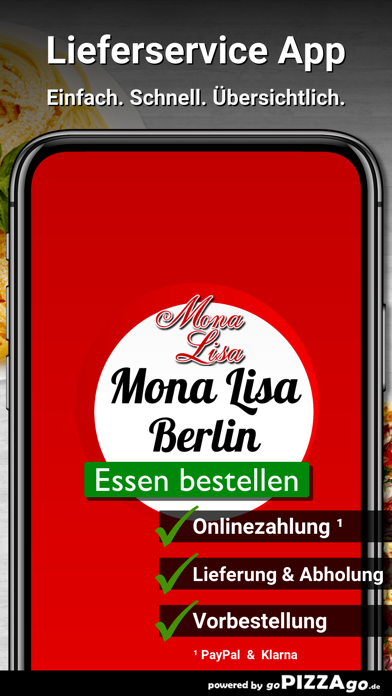 Pizza Mona Lisa Berlin screenshot 1