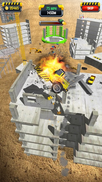 Construction Ramp Jumping screenshot 5