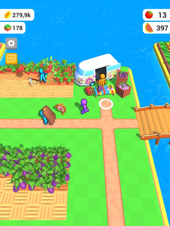 Ipad Screen Shot Farm Land 3D 5