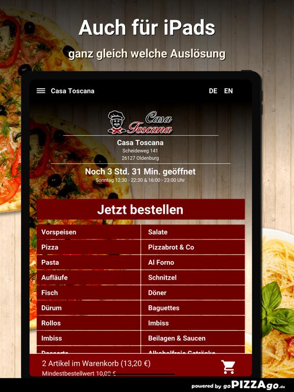 Casa Toscana Oldenburg screenshot 7