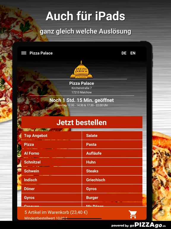Pizza Palace Malchow screenshot 7