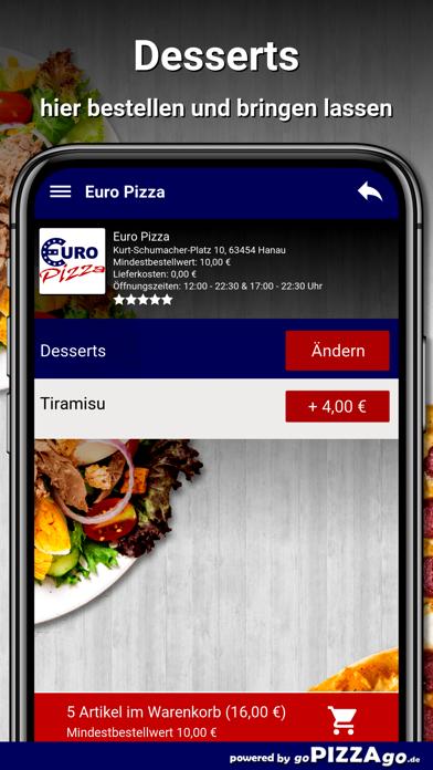 Euro Pizza Hanau screenshot 6