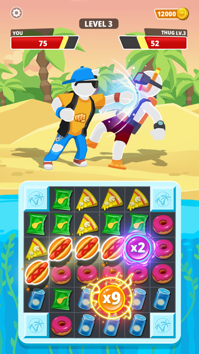 Match Hit - Puzzle Fighter screenshot 6