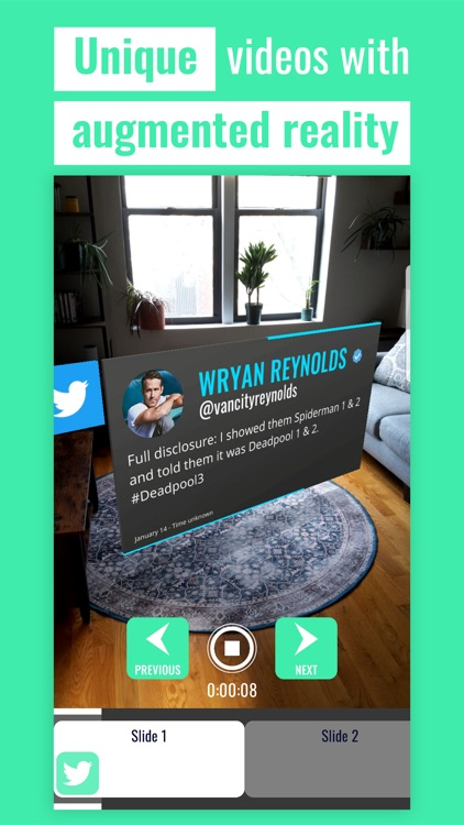Artys: AR Captions for Videos