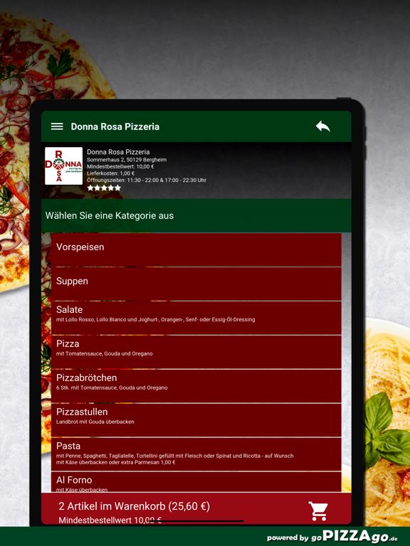 Donna Rosa Pizzeria Bergheim screenshot 8
