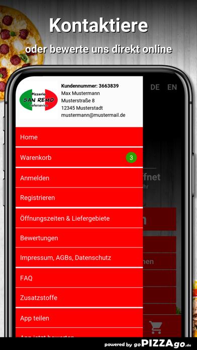 Pizzeria San Remo Warendorf screenshot 3