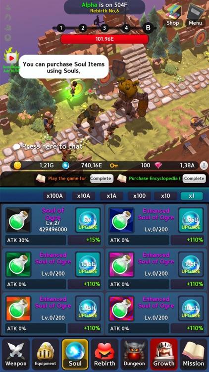 Infinite Knight screenshot-3