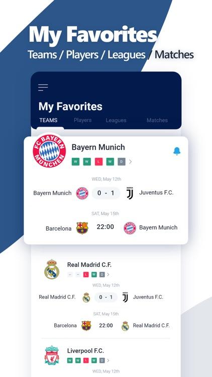 SportMob - Live Scores & News screenshot-5