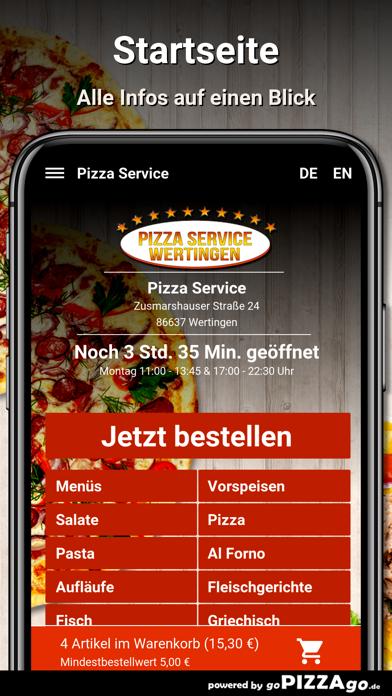 Pizza Service Wertingen screenshot 2