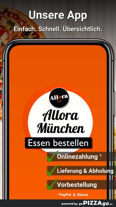 Allora Pizza München screenshot 2