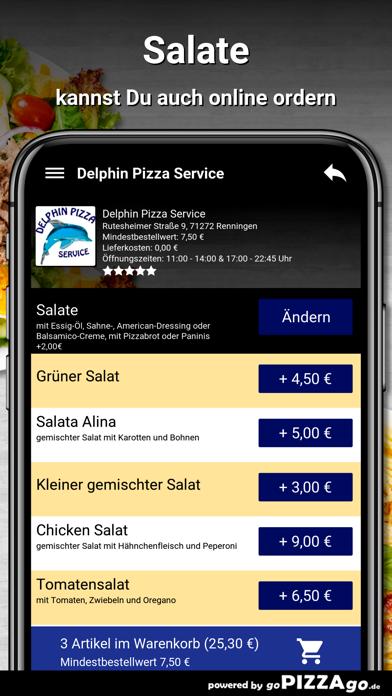 Delphin Pizza Renningen screenshot 5