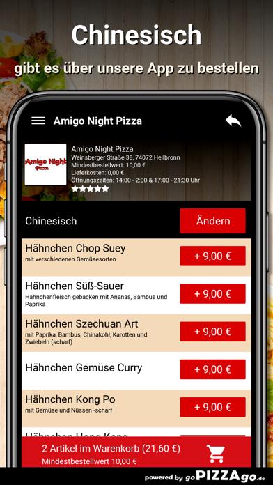 Amigo Night Pizza Heilbronn screenshot 6