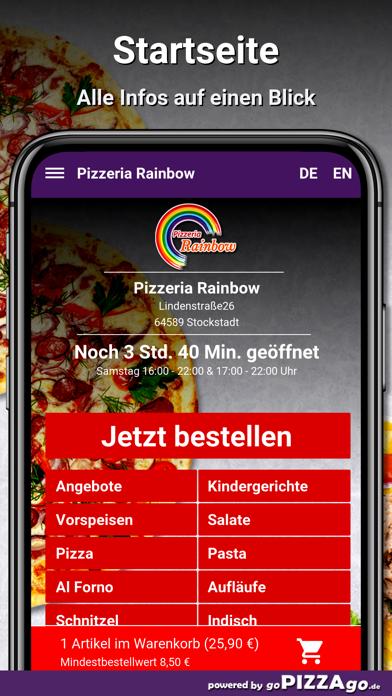 Pizzeria Rainbow Stockstadt screenshot 2