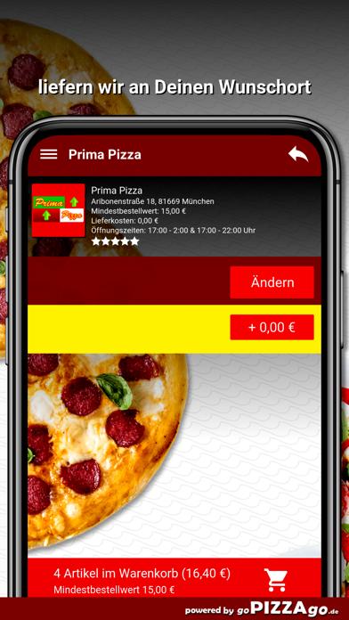 Prima Pizza München screenshot 6