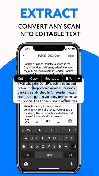 Scan and Sign - Scanner app screenshot-4