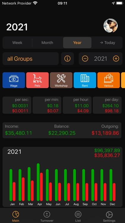 Live Budget - Money Manager screenshot-9