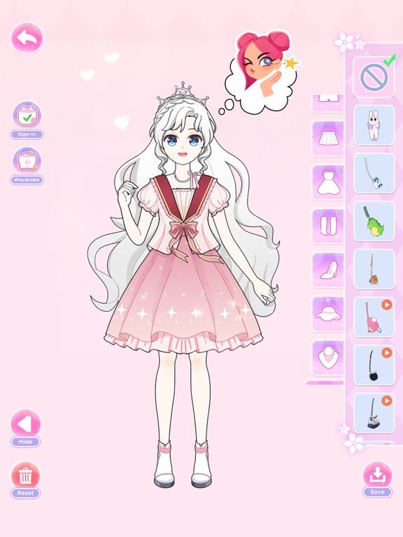 iPad Image of Princess Doll - Dress Up Game