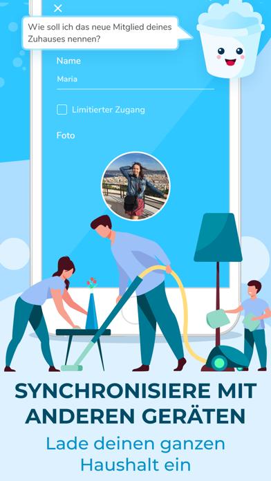 Sweepy: Dein PutzplanScreenshot von 4