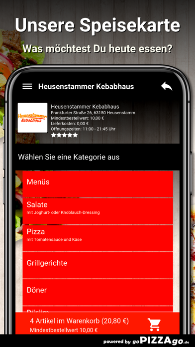 Kebabhaus Heusenstamm screenshot 4