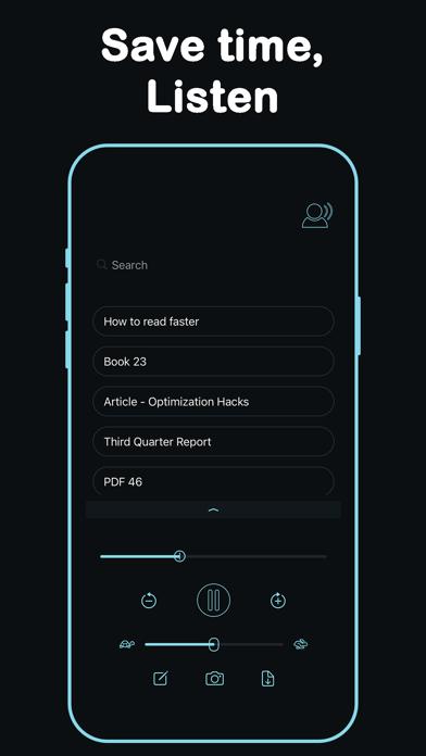 Listen - Text To Speech screenshot 1