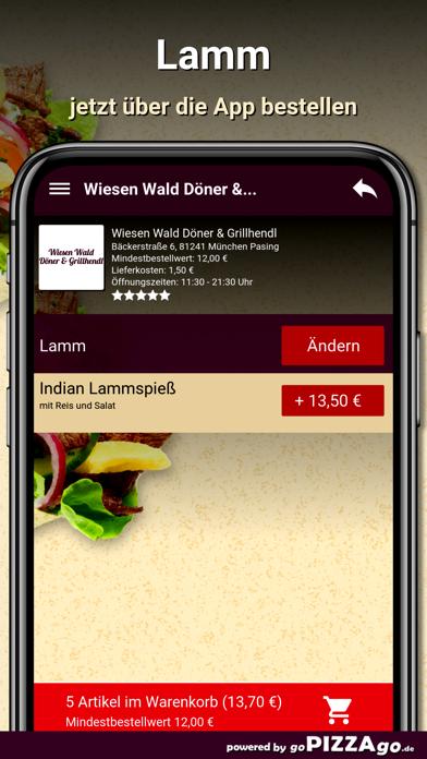 Wiesen Wald Döner screenshot 6
