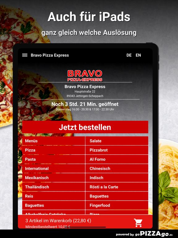 Bravo Pizza Express Jettingen screenshot 7